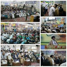 جشن عید غدیر در حرم حضرت زینب (س) برگزار شد+ تصاویر
