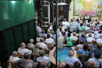 مراسم جشن عید ولایت امیر المؤمنین (ع) در دمشق برگزار شد + تصاویر