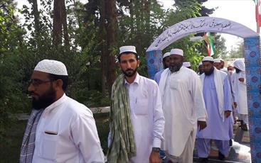 اعزام روحانیون اهل سنت سیستان و بلوچستان به مشهد مقدس
