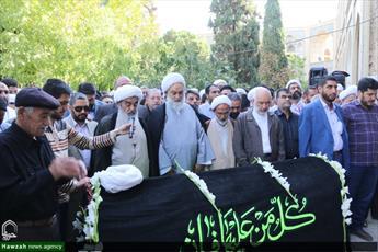 تصاویر/ تشییع پیکر آیت الله شیخ مجتبی بهشتی در اصفهان