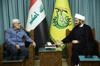 """نقش """"نجبا"""" در تأمین امنیت بغداد ستودنی است + تصاویر"""