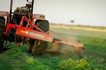 فیلم/ فعالیت های یک روحانی مستقر در زمینه کشاورزی