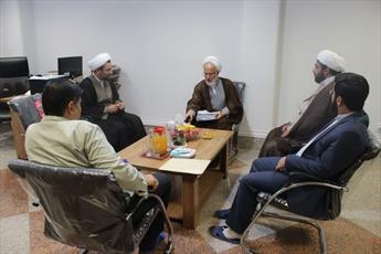 بازدید عضو خبرگان رهبری از پژوهشکده مجمع الفکرالاسلامی