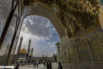 تصاویر/ حرم حضرت معصومه(ع) از قاب دوربین آستان مقدس حسینی