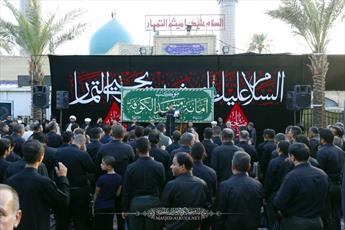 مراسم عزاداری شهادت میثم تمار در کوفه برگزار شد+ تصاویر