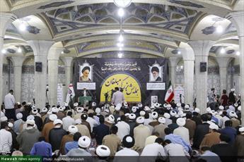 تصاویر/ همایش مبلغان محرم الحرام در مدرسه علمیه فیضیه