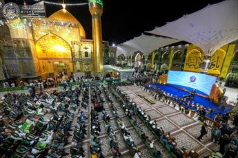 گزارشی از فعالیت های هفتمین جشنواره غدیر در نجف اشرف + تصاویر