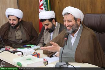 تصاویر/ نخستین اجلاسیه مدیران مدارس علمیه خوزستان در سال تحصیلی جدید