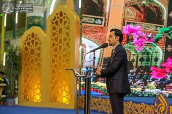 در جشنواره بین المللی غدیر شاعران زبان به مدح امیر المؤمنین(ع) گشودند+ تصاویر