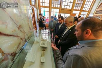 تصاویر/ برگزاری جشنواره بینالمللی غدیر در حرم امیر المؤمنین(ع)