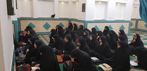 آغاز سال تحصیلی در مدرسه  حضرت زینب کبری(س)یزد