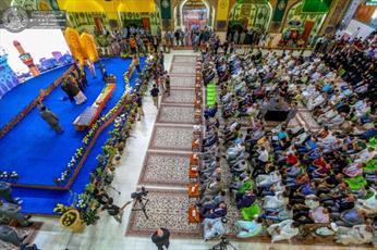 جشنواره بینالمللی غدیر در حرم علوی پایان یافت +تصاویر