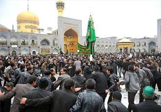 ویژه برنامه های حرم مطهر رضوی در اربعین حسینی