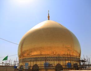 تصاویر/ شست و شوی گنبد حرم امامین عسکریین (علیهما السلام) در آستانه ماه محرم