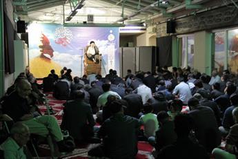 تصاویر/ مراسم عزاداری شب اول محرم در مرکز اسلامی وین