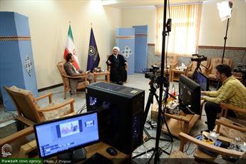 تصاویر/ دومین گفتوگوی برخط مرکز مدیریت حوزههای علمیه خواهران