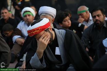 تصاویر/ تجمع هیئت های مذهبی با عنوان ( لبیک یا حسین(ع) ) در امامزاده ابراهیم (ع)