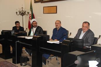 نشست شهردار قزوین با  مبلغین و روحانیون