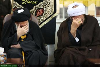 تصاویر/ مراسم عزاداری سرور و سالار شهیدان در بیوت  علما