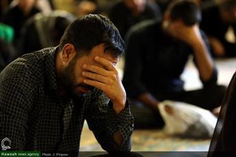تصاویر/ مراسم سوگواری امام حسین علیه السلام در مسجد اعظم قم