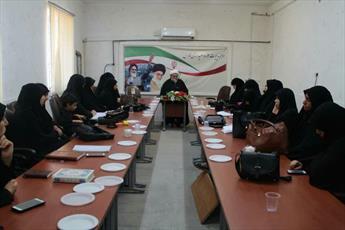 دوره طرح تربیت مبلغان خواهر مدارس امین در شیراز برگزار شد