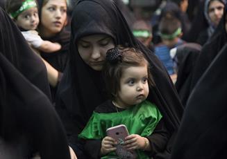 ۳۲ همایش شیرخوارگان حسینی در استان کردستان برگزار شد