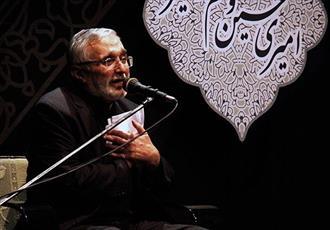 فیلم/ مداحی حاج منصور ارضی شب ششم محرم 98