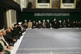 اولین شب مراسم عزاداری حضرت اباعبدالله الحسین (ع) برگزار شد