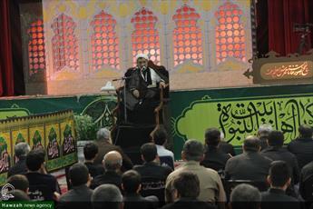 تصاویر/ مراسم سوگواری امام حسین(ع) در حسینیه عاشقان ثارالله بوشهر