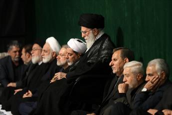 مراسم عزاداری حسینی (ع) در حسینیه امام خمینی(ره) برگزار شد