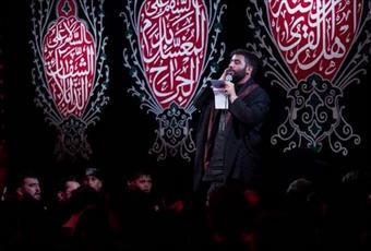 فیلم/ مداحی حماسی حسین طاهری در شب ششم محرم