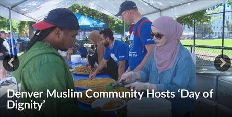جامعه اسلامی دنور، میزبان «روز کرامت» برای  نیازمندان بود