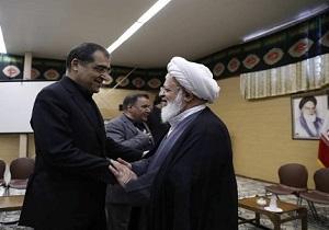 دیدار وزیر بهداشت با آیت الله ناصری یزدی