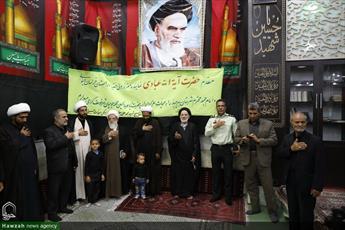 تصاویر/ مراسم عزاداری شب هشتم محرم در شهر خوسف