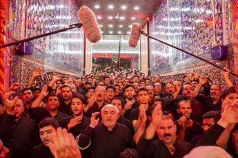 حضور روزانه دسته های عزاداری در حرم امام حسین و حضرت عباس (علیهما السلام) +تصاویر