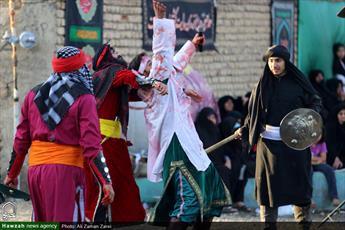 تصاویر/ تعزیه حضرت علی اکبر در روستای مدآباد لرستان