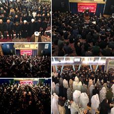 حضور عزاداران در مراسم سوگواری محرم مرکز اسلامی هامبورگ+ تصاویر