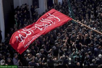 تصاویر/ عزاداری تاسوعای حسینی در حسینه امام رضا(ع) بیرجند