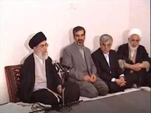 فیلم/ مرثیهخوانی حضرت آیتالله خامنهای به زبان آذری در  اردبیل