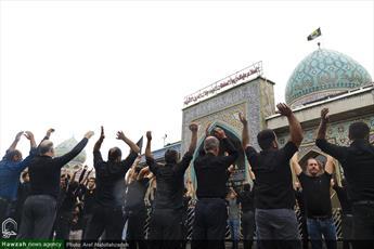 تصاویر/ مراسم عزاداری روز عاشورا در آستانه اشرفیه
