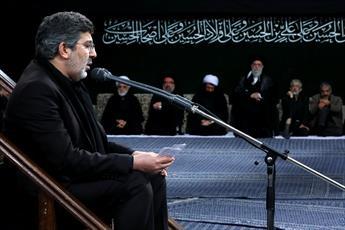 فیلم/ مداحی حاج محمدرضا طاهری در حسینیه امام خمینی(ره)