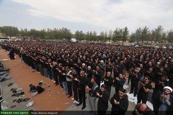 تصاویر/ اقامه نماز ظهر عاشورا در بیرجند