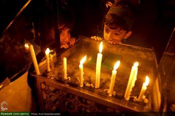 تصاویر/ شام غریبان امام حسین(ع) در آستانه اشرفیه