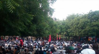 شیعیان شهر کانو نیجریه مراسم عزاداری برگزار کردند+ تصاویر