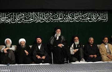 آخرین شب مراسم عزاداری حضرت اباعبدالله الحسین(ع) برگزار شد
