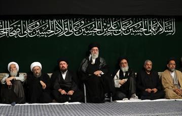 تصاویر/ آخرین شب مراسم عزاداری حضرت اباعبدالله الحسین علیهالسلام در حسینیه امام خمینی