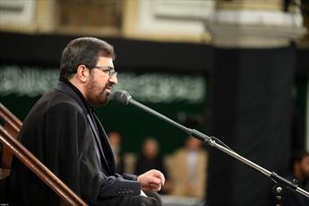 فیلم/ مداحی حاج مرتضی طاهری در حسینیه امام خمینی