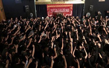 عزاداری پر شور عاشورائیان در مرکز اسلامی هامبورگ + تصاویر