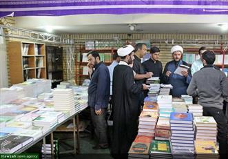 تصاویر/ افتتاح چهارمین نمایشگاه کتب حوزوی خراسان