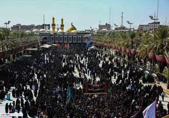 تصاویر/ عزاداری طایفه بنی اسد در روز ۱۳ محرم در کربلا